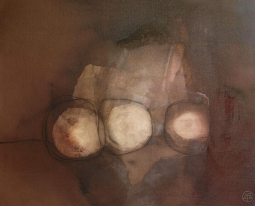 Bodegon Nº 1  Pintura de Nacho Mur   Compra arte en Flecha.es
