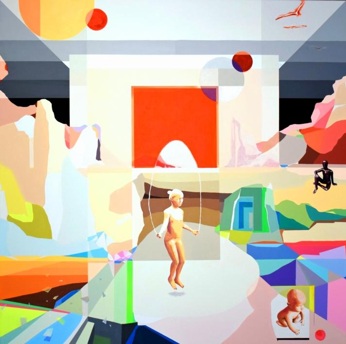 Un nuevo comienzo |Pintura de ALEJOS | Compra arte en Flecha.es