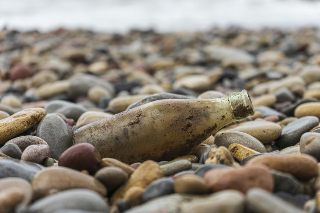 Mensaje en una botella |Digital de Cruz Mondragón | Compra arte en Flecha.es