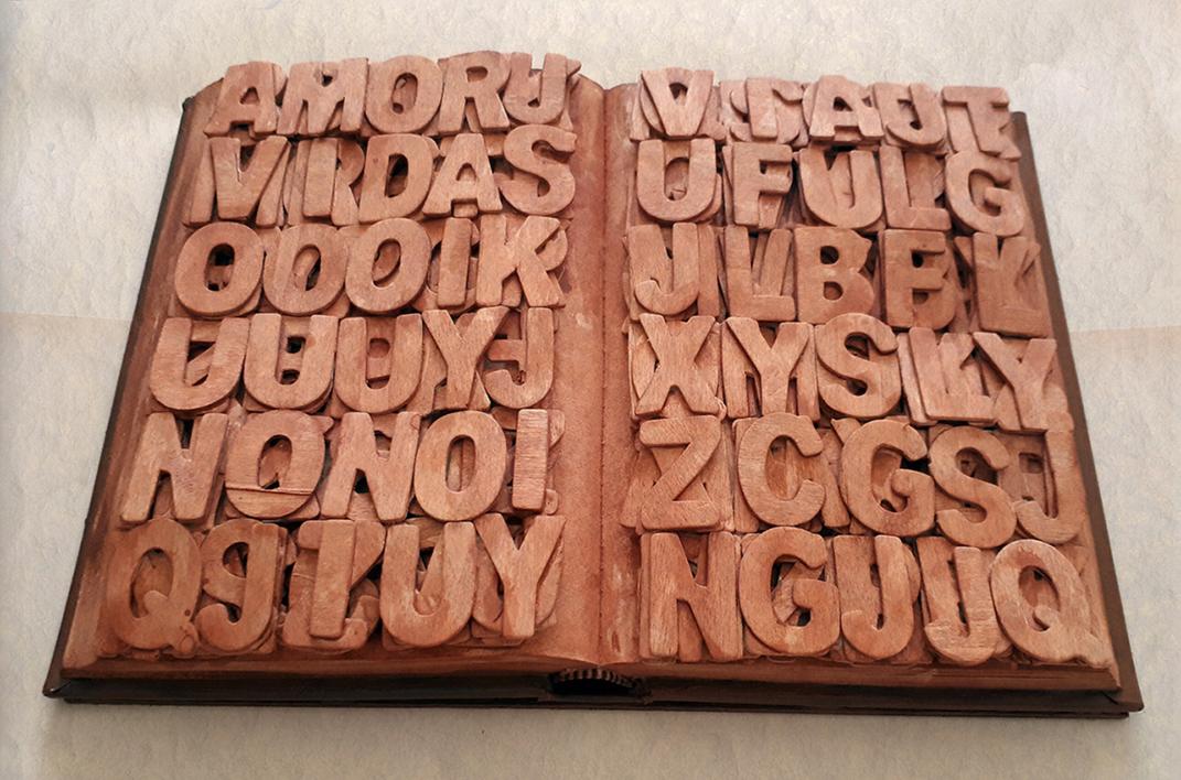 """Homenaje a la imprenta"" |Escultura de alfonso aguado ortuño | Compra arte en Flecha.es"