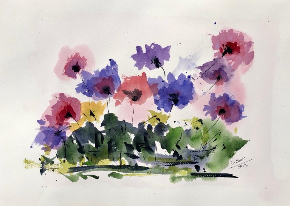 Floral |Pintura de Jesus | Compra arte en Flecha.es