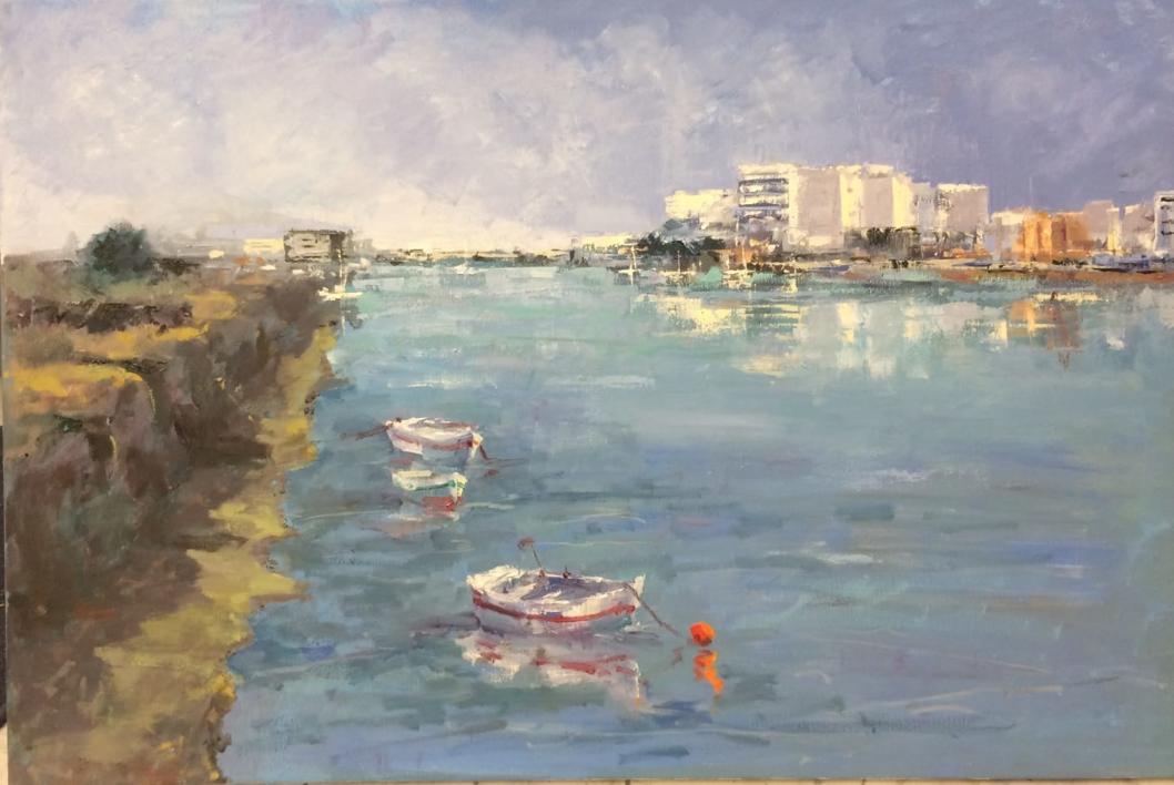 Guadalete |Pintura de Jesus | Compra arte en Flecha.es