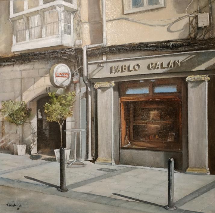 Joyería Galán-Santander |Pintura de TOMAS CASTAÑO | Compra arte en Flecha.es
