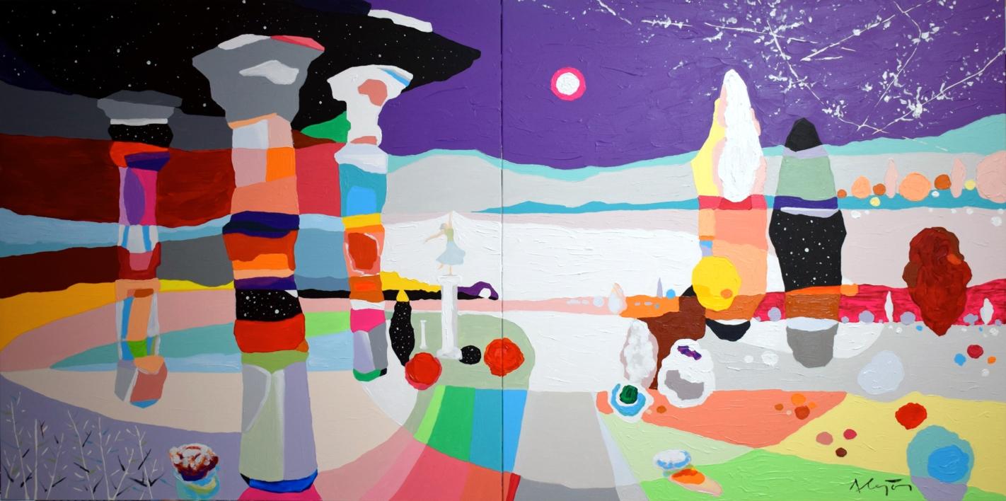 Mi Santuario |Pintura de ALEJOS | Compra arte en Flecha.es