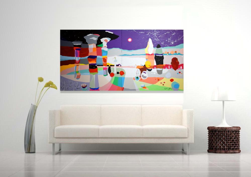 Mi Santuario | Pintura de ALEJOS | Compra arte en Flecha.es