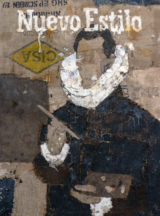 NUEVO ESTILO |Collage de Barbeito | Compra arte en Flecha.es