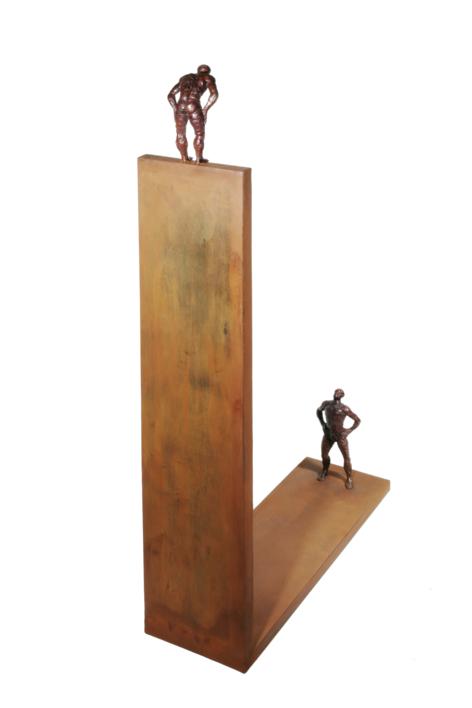 ARRIBA Y ABAJO   Escultura de Fernando Suárez   Compra arte en Flecha.es