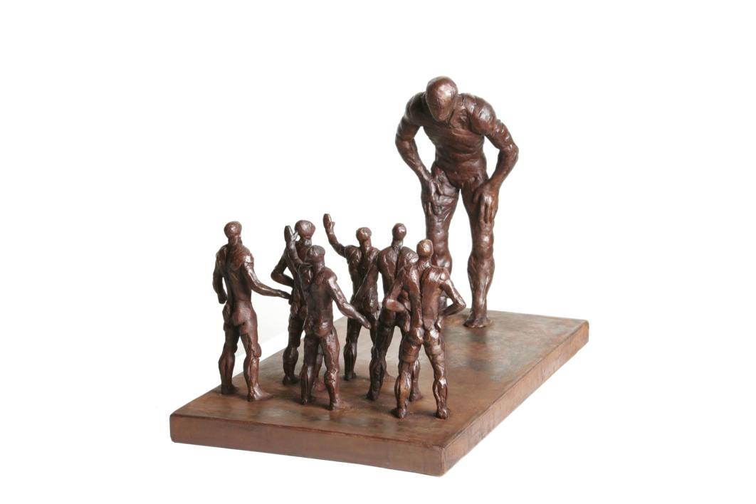 DIFERENTES |Escultura de Fernando Suárez | Compra arte en Flecha.es