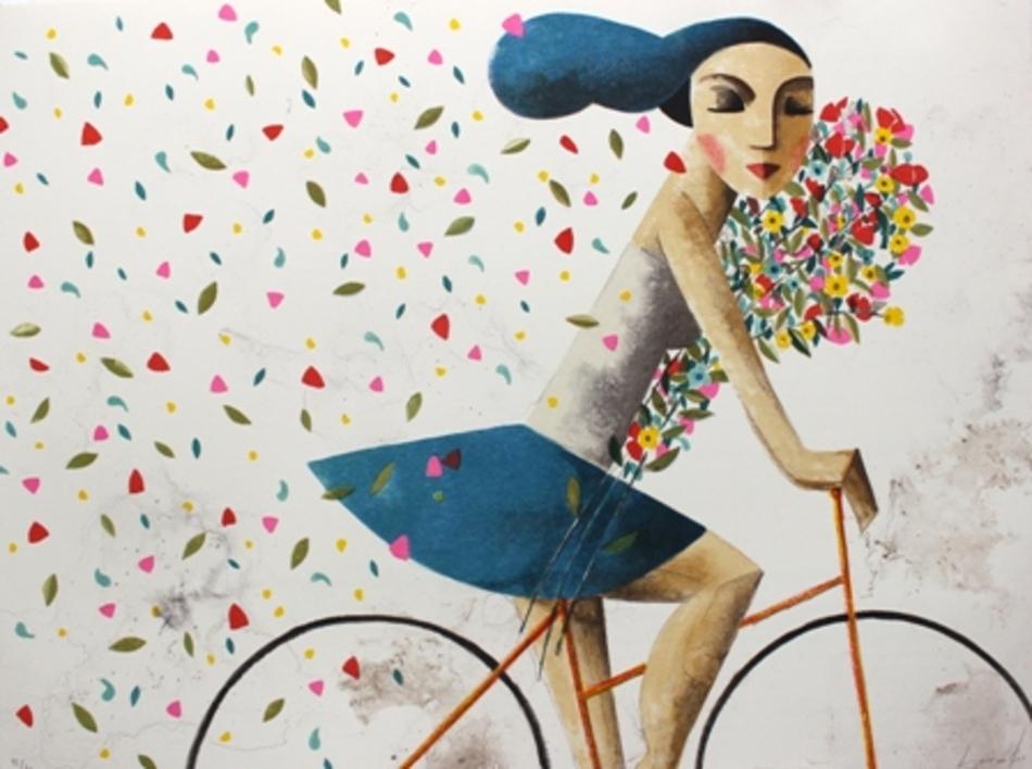 DREAM  Obra gráfica de Didier Lourenço   Compra arte en Flecha.es