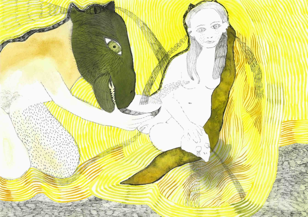 Chorar os osos tamén  Dibujo de Reme Remedios   Compra arte en Flecha.es
