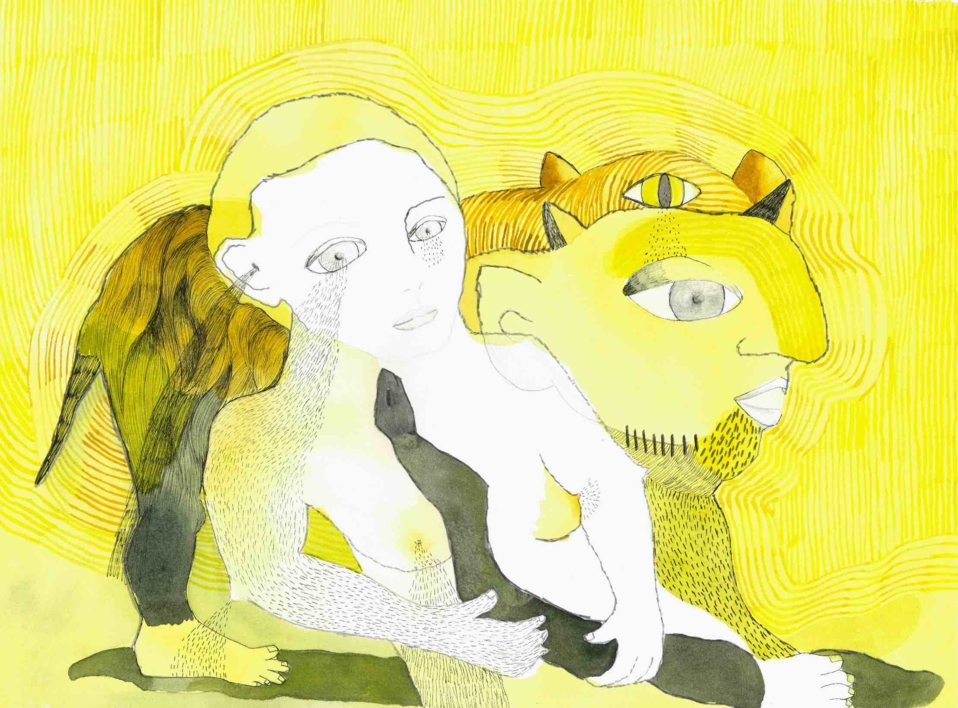 Chorar o amor |Dibujo de Reme Remedios | Compra arte en Flecha.es