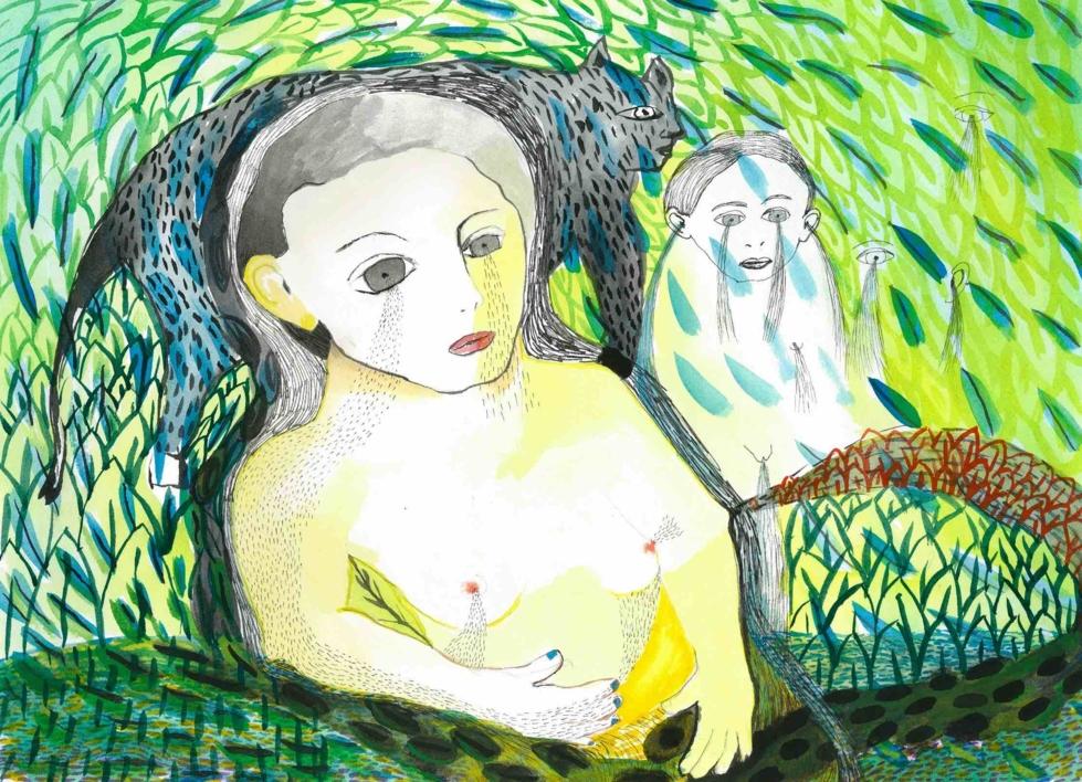 Chorar a selva |Dibujo de Reme Remedios | Compra arte en Flecha.es