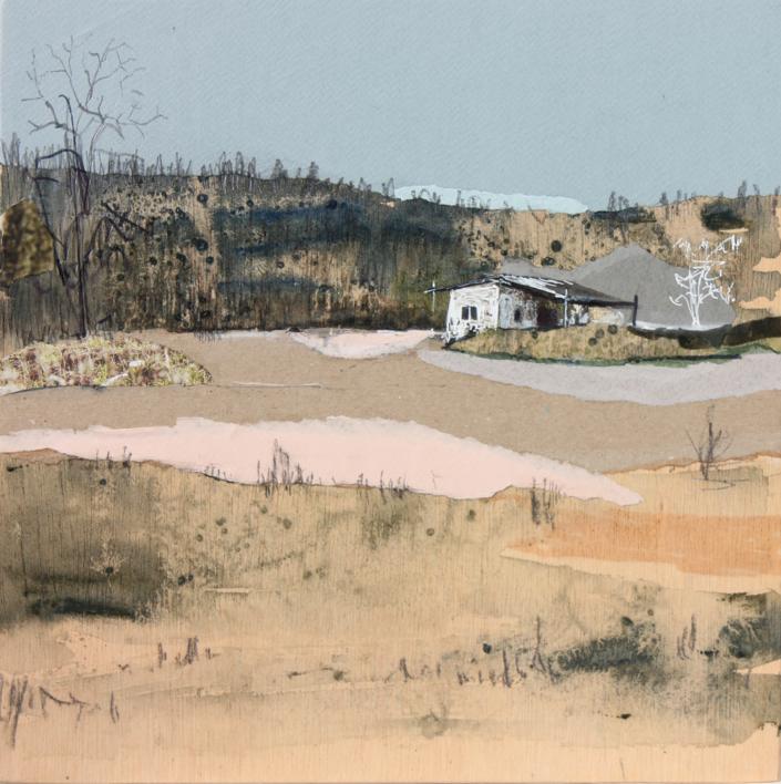 Entre colinas de pinos |Pintura de Eduardo Query | Compra arte en Flecha.es