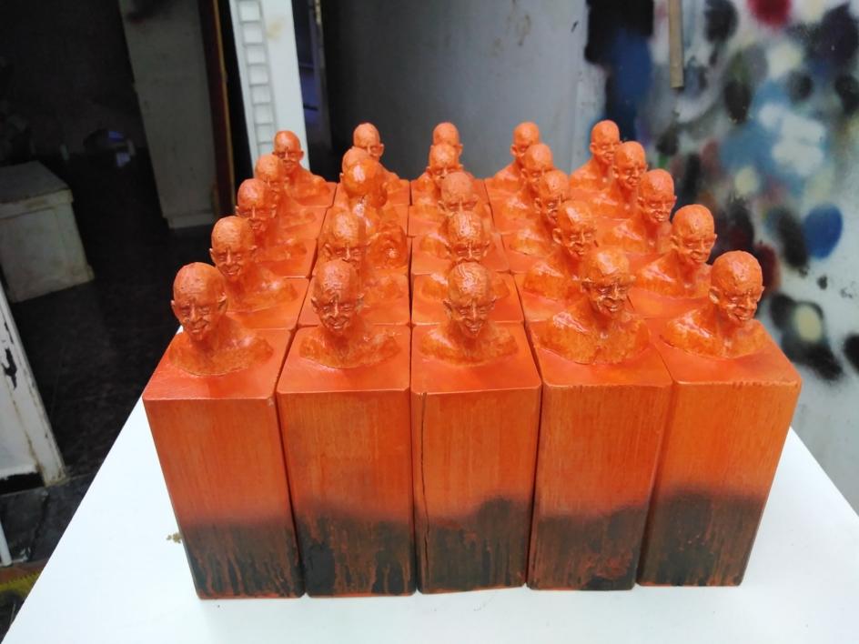 Discolo |Escultura de Reula | Compra arte en Flecha.es