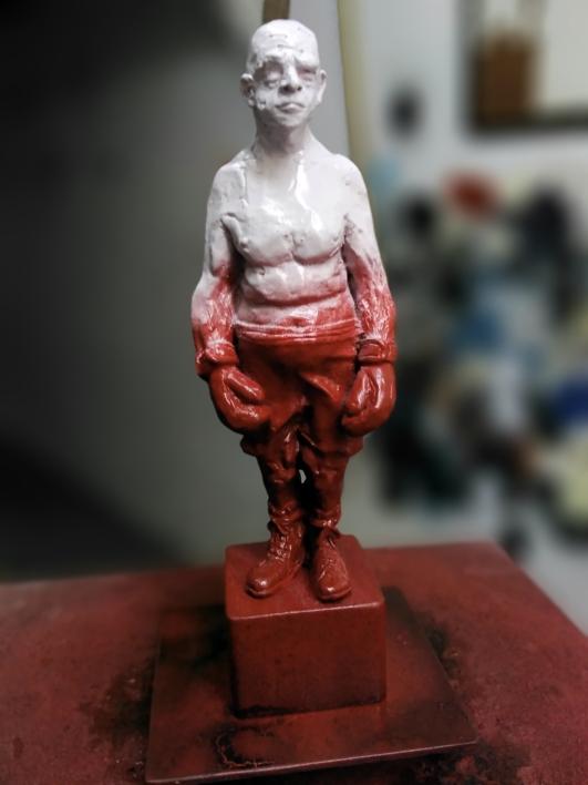 Personajes ilustres. |Escultura de Reula | Compra arte en Flecha.es