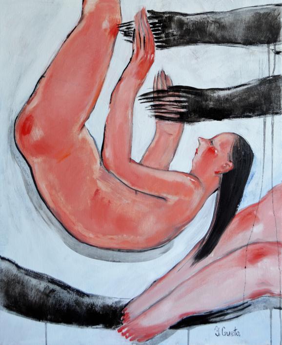 Slumbers |Pintura de Yana Medow | Compra arte en Flecha.es