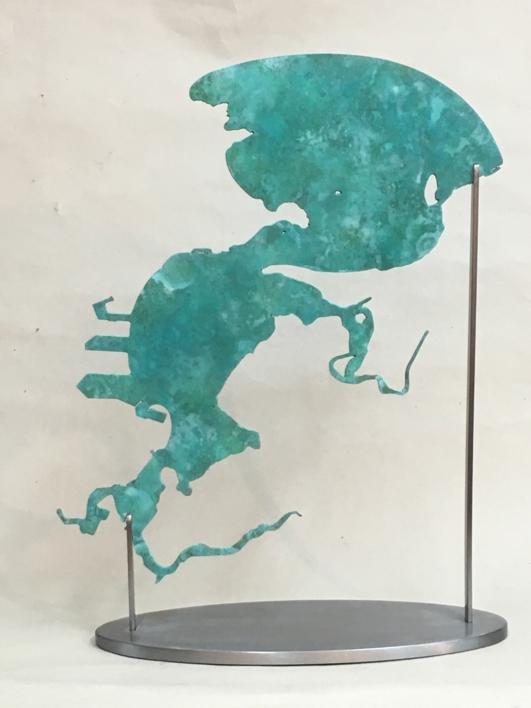 La Bahía de Santander |Escultura de Jaelius Aguirre | Compra arte en Flecha.es