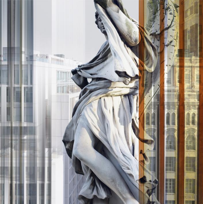 Madrid/Roma 3 (de la serie DOBLES) |Digital de Paco Díaz | Compra arte en Flecha.es