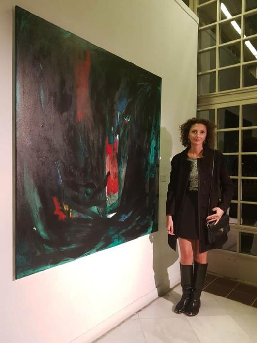 Sueño de ayer   Pintura de Lika Shkhvatsabaia   Compra arte en Flecha.es