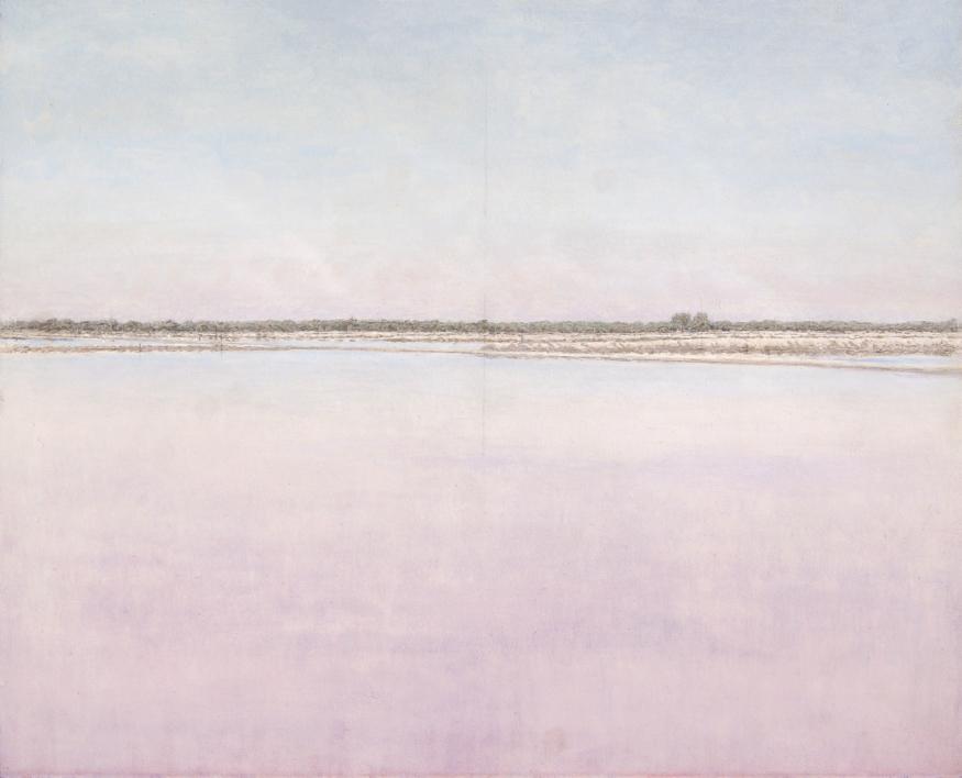 Salinas de Bonanza XIII |Pintura de José Luis Romero | Compra arte en Flecha.es