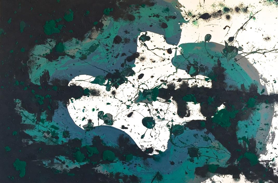 ESPACIO Y TIERRA |Pintura de ALFREDO MOLERO DOVAL | Compra arte en Flecha.es