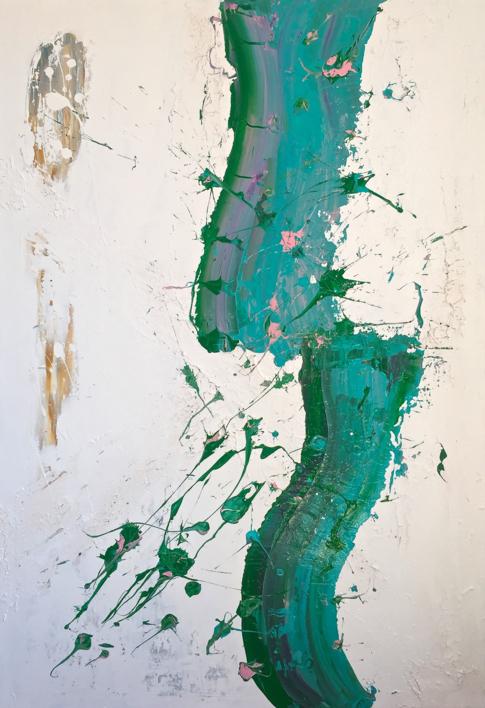 FLUYE SUAVE |Pintura de ALFREDO MOLERO DOVAL | Compra arte en Flecha.es