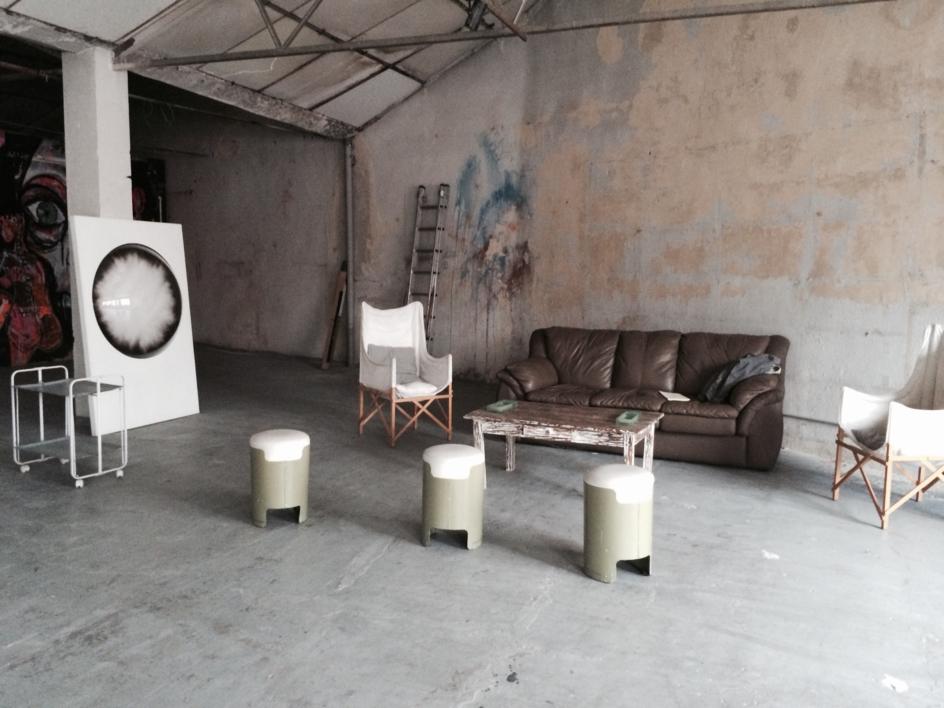 """""""Humo""""   Escultura de pared de Isabel Alonso Vega   Compra arte en Flecha.es"""