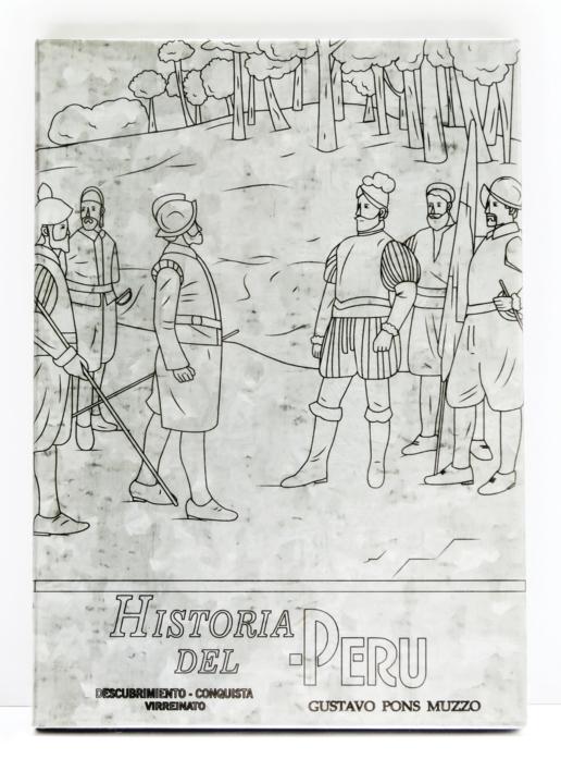 TEXTO ESCOLAR HISTORIA DEL PERÚ |Escultura de Micaela Aljovín | Compra arte en Flecha.es