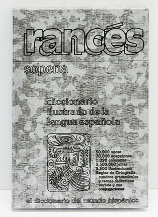 TEXTO ESCOLAR RANCÉS ENCICLOPEDIA - SOPENA |Escultura de Micaela Aljovín | Compra arte en Flecha.es