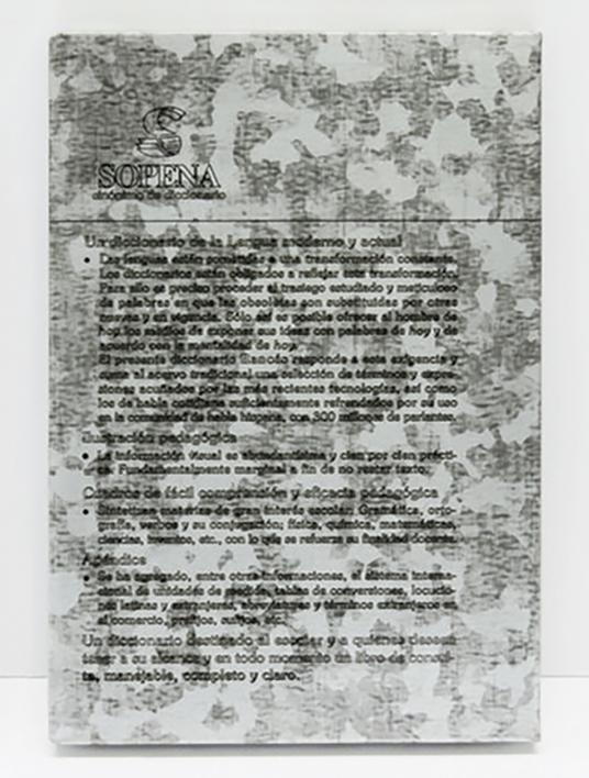 TEXTO ESCOLAR RANCÉS ENCICLOPEDIA - SOPENA | Escultura de Micaela Aljovín | Compra arte en Flecha.es