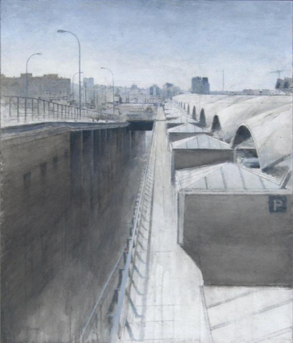 Atocha |Pintura de José Luis Romero | Compra arte en Flecha.es