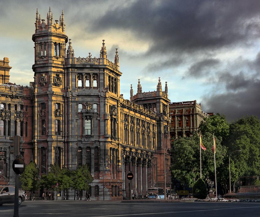 Palacio de Cibeles |Fotografía de Leticia Felgueroso | Compra arte en Flecha.es