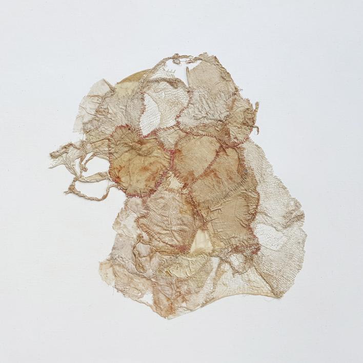 Stitching Up,  Iroing Out,  Flattening Down III |Collage de Barbara Long | Compra arte en Flecha.es