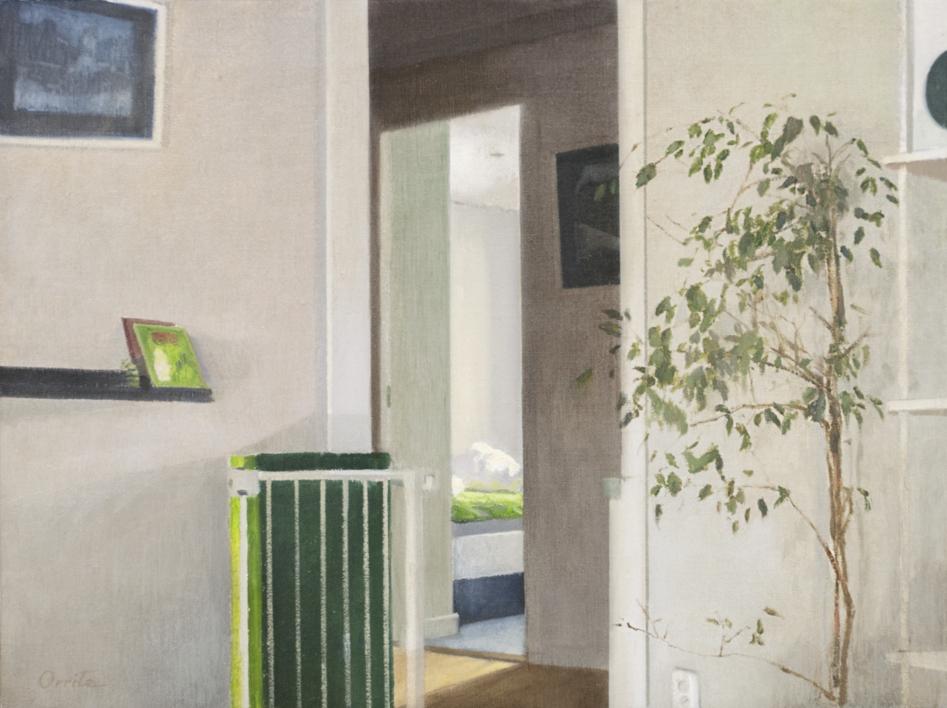 Al amanecer |Pintura de Orrite | Compra arte en Flecha.es