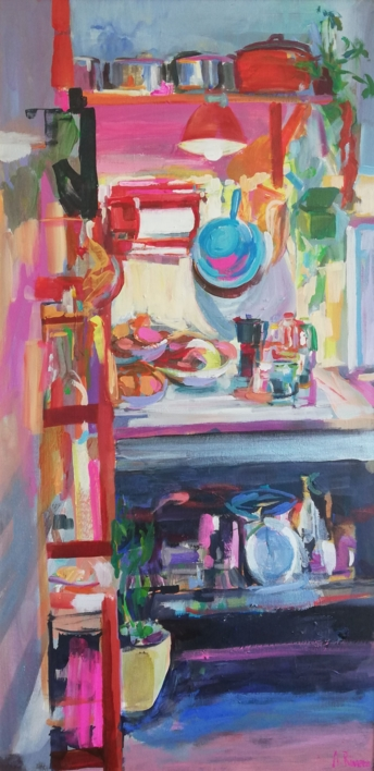 Castor |Pintura de Angeli Rivera | Compra arte en Flecha.es