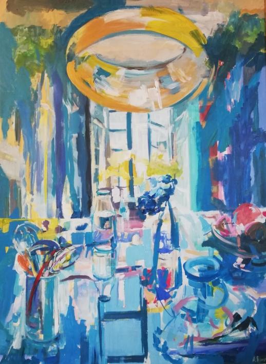Reina |Pintura de Angeli Rivera | Compra arte en Flecha.es