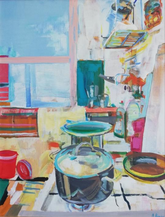 Nanda |Pintura de Angeli Rivera | Compra arte en Flecha.es