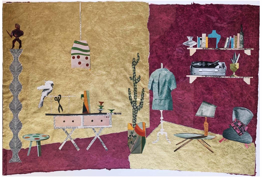 El Taller de Costura |Collage de Mero Pil Pil | Compra arte en Flecha.es