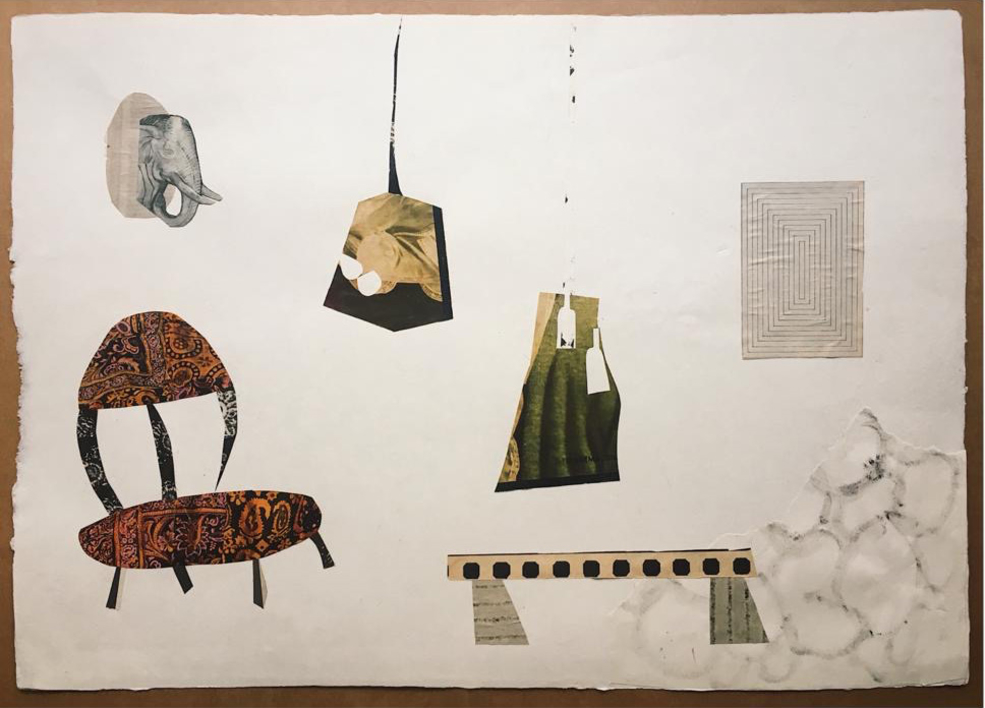 Butacón |Collage de Mero Pil Pil | Compra arte en Flecha.es