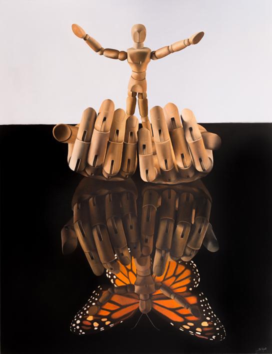 Liberación  Pintura de Soraya Güell   Compra arte en Flecha.es