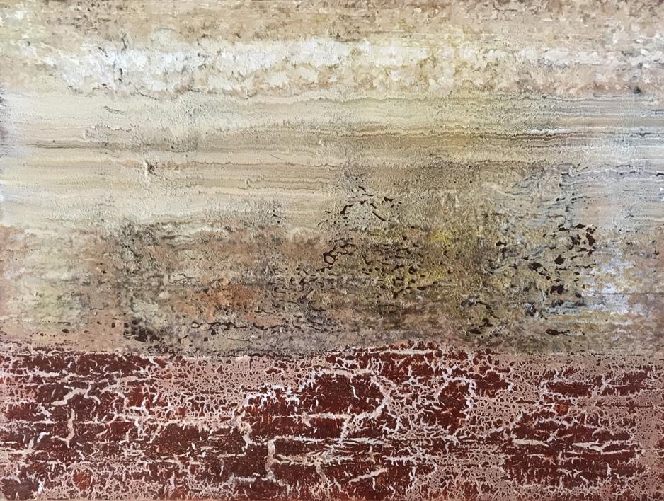 Texturas desérticas |Pintura de Enric Correa | Compra arte en Flecha.es
