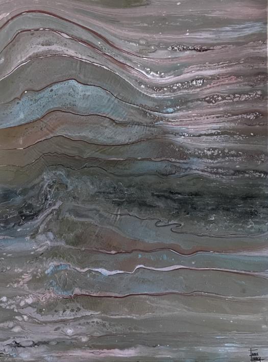 Reflejos metalizados |Pintura de Enric Correa | Compra arte en Flecha.es