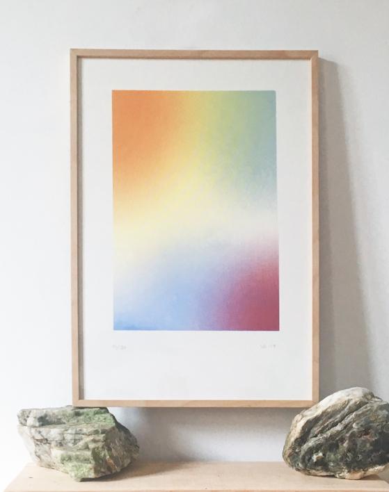 MUCHOS POCOS HACEN MUCHO. II |Obra gráfica de Violeta Maya McGuire | Compra arte en Flecha.es