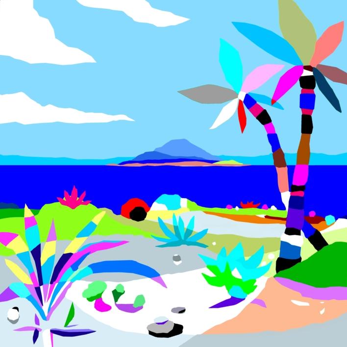 El mundo perdido  Dibujo de ALEJOS   Compra arte en Flecha.es