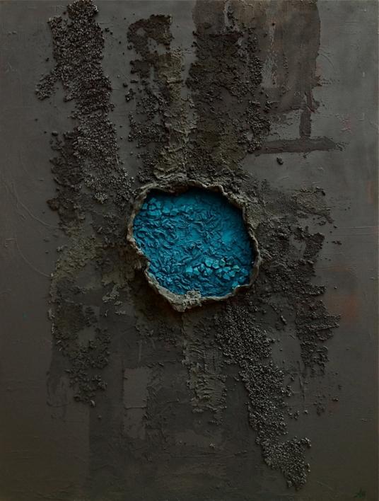 MIRA PROFUNDO |Escultura de pared de ALFREDO MOLERO DOVAL | Compra arte en Flecha.es