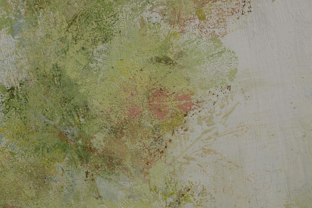 JARDÍN EN REDONDEL:  JUNIO | Pintura de BÁRBARA MELÉNDEZ MARTIN DE PERALTA | Compra arte en Flecha.es