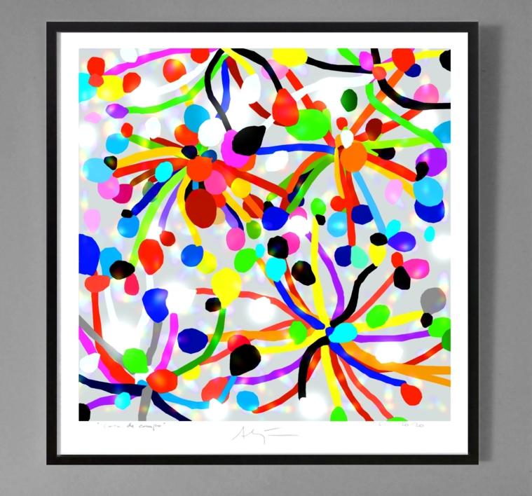 Carnaval | Dibujo de ALEJOS | Compra arte en Flecha.es