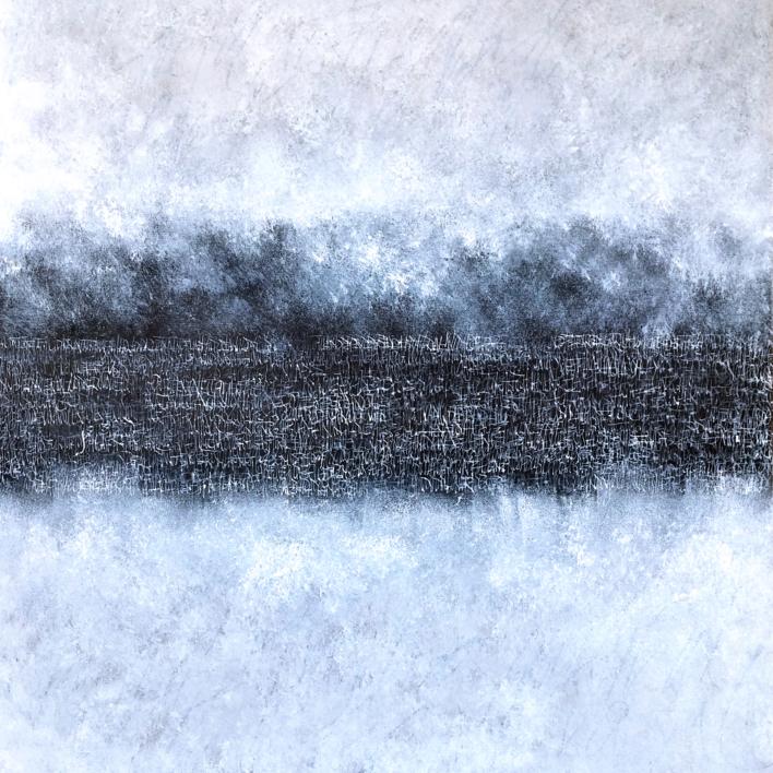 Nebulosa |Pintura de Jorge Regueira | Compra arte en Flecha.es