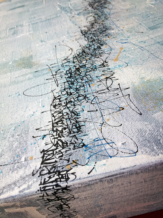 La ascensión | Pintura de Jorge Regueira | Compra arte en Flecha.es
