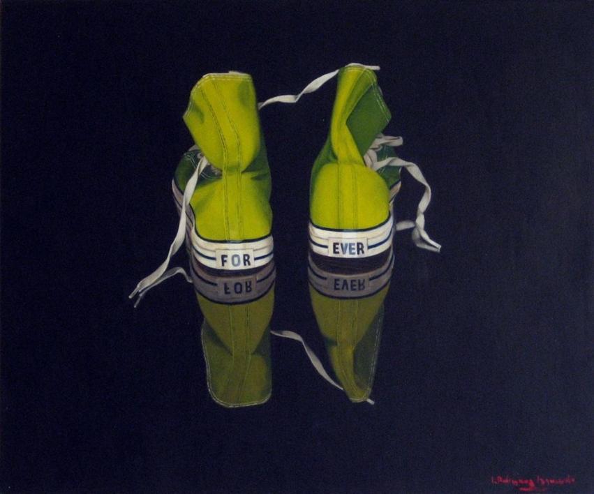 Forever |Pintura de Nacho Rodríguez Izquierdo | Compra arte en Flecha.es